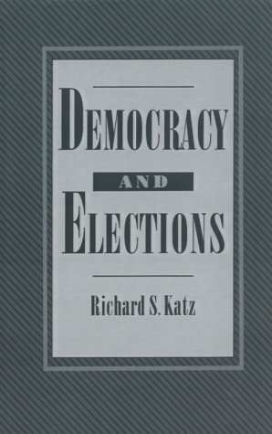 Democracy and Elections 9780195044294
