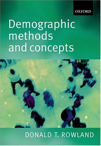 Demographic Methods and Concepts 9780198752639