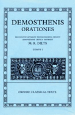 Demosthenis Orationes I 9780198721680