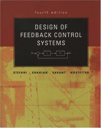 Design Of Feedback Control Systems Th Edition
