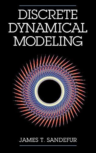 Discrete Dynamical Modeling 9780195084382