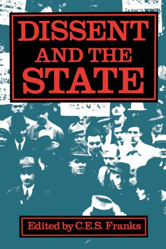 Dissent and the State 9780195407426