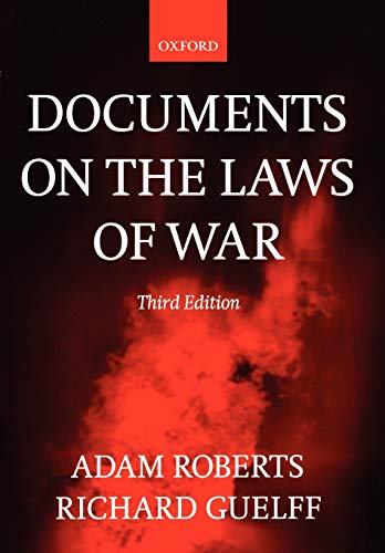 Documents on the Laws of War 9780198763901