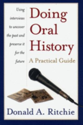 Doing Oral History: A Practical Guide 9780195154344
