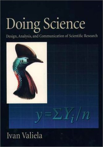 Doing Science: Design, Analysis, and Communication of Scientific Research 9780195134131