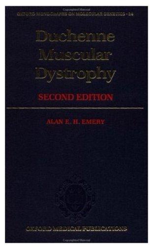 Duchenne Muscular Dystrophy 9780192623706