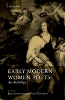 Early Modern Women Poets: An Anthology 9780199242573