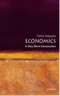 Economics: A Very Short Introduction 9780192853455