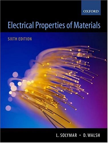 Electrical Properties of Materials 9780199267934