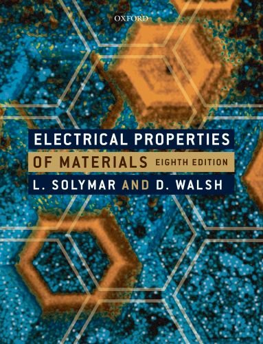 Electrical Properties of Materials 9780199565917