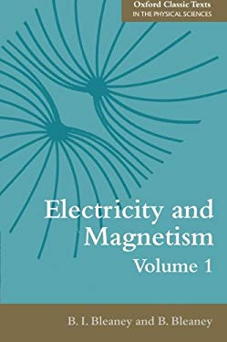 Electricity and Magnetism, Volume 1: Third Edition