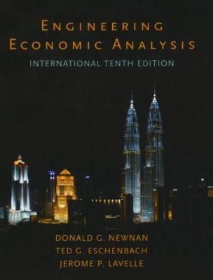 Engineering Economic Analysis International 9780195366433
