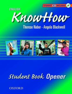 English Knowhow Opener: Student Book with CD 9780194538503