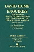 Enquiries Concerning Human Understanding and Concerning the Principles of Morals 9780198245360
