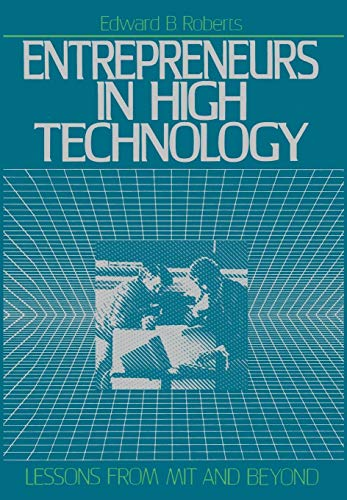 Entrepreneurs in High Technology 9780195067040