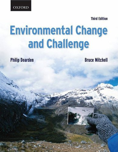Environmental Change and Challenge: A Canadian Perspective [With DVD ROM] 9780195428650