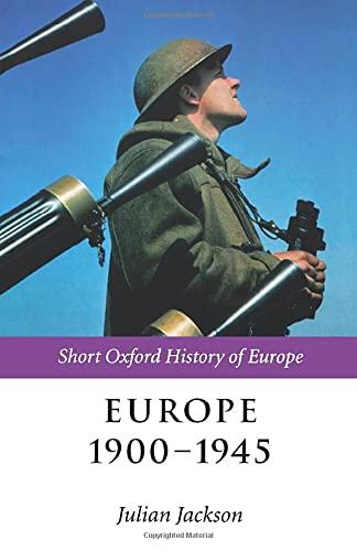 Europe 1900-1945 9780199244287