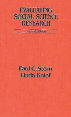 Evaluating Social Science Research 9780195079692