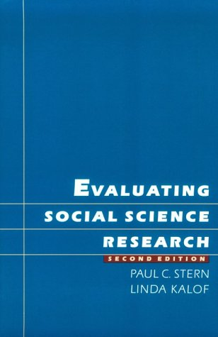 Evaluating Social Science Research 9780195079708