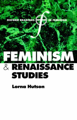Feminism and Renaissance Studies 9780198782445