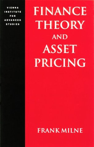 Finance Theory and Asset Pricing 9780198773986