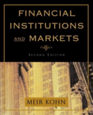 Financial Institutions and Markets 9780195134728