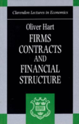 Firms, Contracts, and Financial Structure 9780198288817
