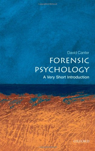 Forensic Psychology 9780199550203