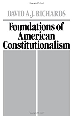Foundations of American Constitutionalism 9780195059397