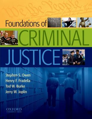 Foundations of Criminal Justice 9780195387322