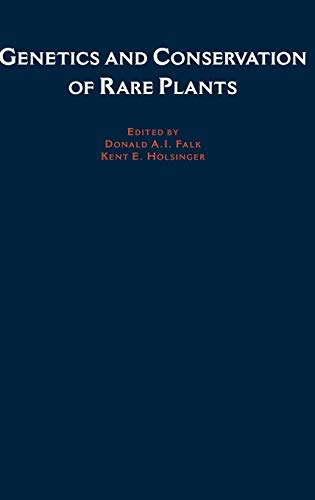 Genetics and Conservation of Rare Plants 9780195064292