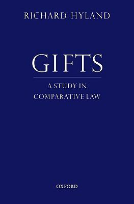 Gifts: A Study in Comparative Law 9780195343366
