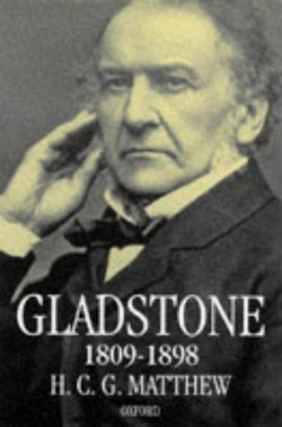 Gladstone: 1809-1898 9780198206965
