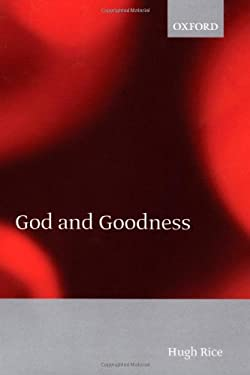 God and Goodness 9780198250289