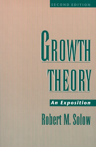 Growth Theory: An Exposition, 2nd Edition 9780195109030