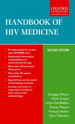Handbook of HIV Medicine 9780195761351