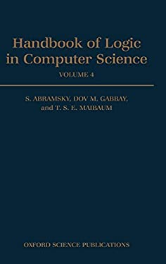 Handbook of Logic in Computer Science: Volume 4: Semantic Modelling 9780198537809