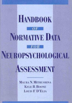 Handbook of Normative Data for Neuropsychological Assessment 9780195056754