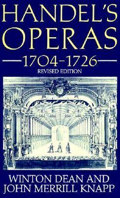 Handel's Operas, 1704-1726 9780198164418