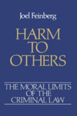 Harm to Others 9780195046649