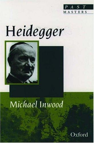 Heidegger 9780192831927
