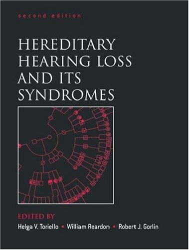 Hereditary Hearing Loss and Its Syndromes 9780195138498