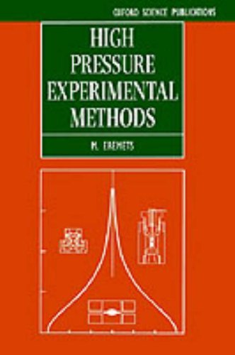 High Pressure Experimental Methods 9780198562696