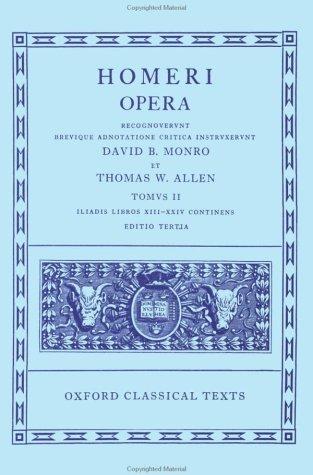 Homeri Opera 9780198145295