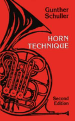Horn Technique 9780198162773