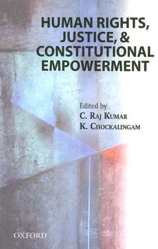 Human Rights, Justice and Constitutional Empowerment 9780195686913
