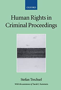 Human Rights in Criminal Proceedings 9780199271207