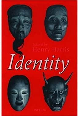 Identity 9780198235255