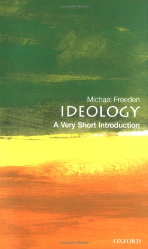 Ideology: A Very Short Introduction 9780192802811