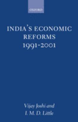 India's Economic Reforms, 1991-2001 9780198290780